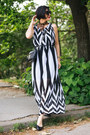 White-jagger-dress-black-freyrs-sunglasses-black-zara-flats