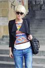 Oasapcom-shirt-zara-jeans-sheinsidecom-blazer-bershka-pumps
