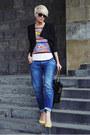 Zara-jeans-sheinsidecom-blazer-oasapcom-shirt-bershka-pumps