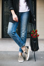 Beige-aldo-shoes-sky-blue-lindex-jeans-black-lindex-hat