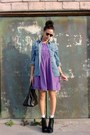 Black-jeffrey-campbell-lita-boots-purple-purple-babydoll-vintage-dress-blue-
