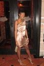 Bebe-dress-aldo-heels