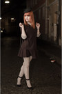Nowistyle-dress-zara-hat-lace-falke-tights-heart-shaped-h-m-bag