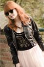 H-m-jacket-ray-ban-sunglasses-lipsy-bodysuit-nowistyle-skirt