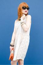crochet nowIStyle dress - abathie by anna topf bag - christian dior sunglasses