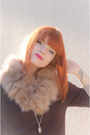 Check-nowistyle-dress-fur-collar-miia-accessories-silver-metallic-asos-heels