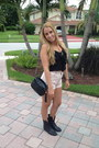Steve-madden-boots-necessary-clothing-shirt-chanel-bag-thrifted-shorts