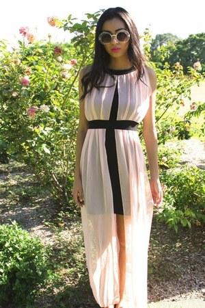 maxi dragonberry dress