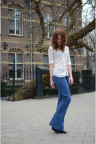Esprit jeans - Mango blouse - Nelly heels