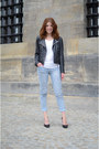 Saint-tropez-jeans-kopenhagen-jacket-we-shirt-nelly-heels