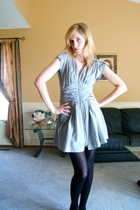 forever 21 dress - American Apparel tights