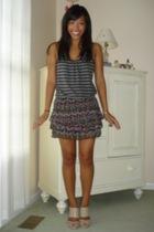 shirt - Forever21 skirt - calvin klein shoes