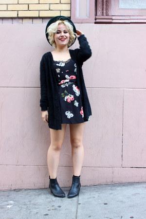 Ebay cardigan - floral dress MinkPink hoodie