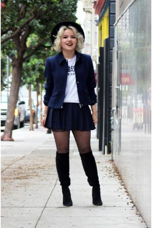American Apparel skirt - Zara jacket