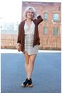 Zara-blazer-wasteland-skirt-nasty-gal-heels