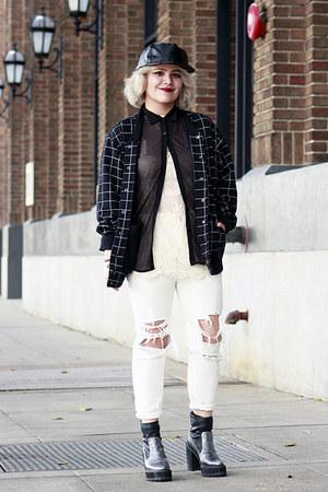 American Apparel jacket - Front Row Shop pants