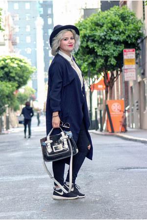 Topshop sneakers - Zara pants