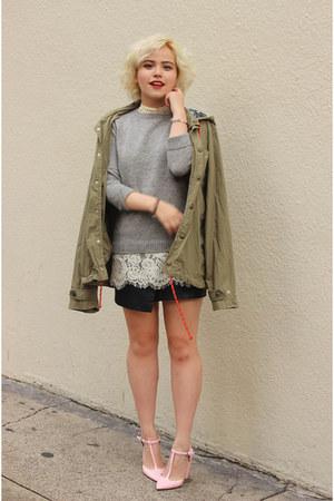 Urban Outfitters top - Zara heels