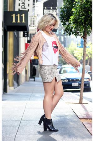 StyleMoi jacket - Wildfox top