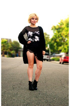 Forever 21 top - lace shorts Sheinside shorts