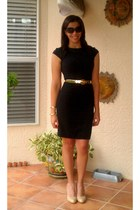 ann taylor belt - H&M dress - Michael Kors sunglasses - corso como pumps