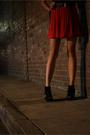 Red-vintage-skirt-black-jeffrey-campbell-boots-black-supre-top-black-stann
