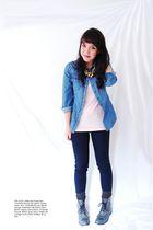black charlotte rousse jeans