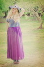 Bow-zara-hat-striped-crop-random-brand-top-maxi-skirt-zara-skirt