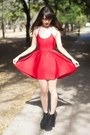 Black-jeffrey-campbell-boots-red-forever-21-dress