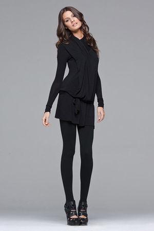 black LBD dress