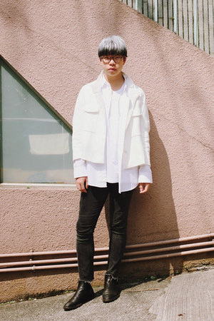 COS boots - Zara jacket