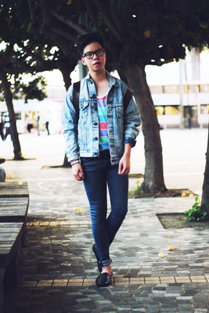 sky blue jean jacket Levis jacket