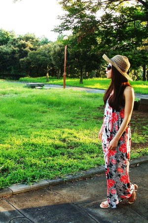 maxi dress Forever 21 dress - Gucci sunglasses