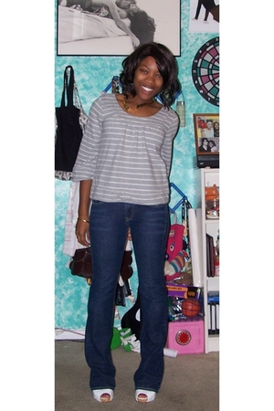 Old Navy top - Old Navy jeans - Forever21 shoes
