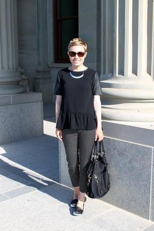 H&M shirt - Gap pants - Dolce Vita flats