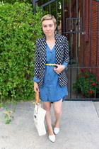 H&M dress - H&M blazer - WILL Leather Goods bag - Forever 21 belt