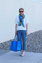 Old Navy boots - H&M shirt - Target scarf - Zara bag - Gap pants