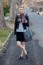Target jacket - Forever 21 sweater - Target scarf - Target loafers