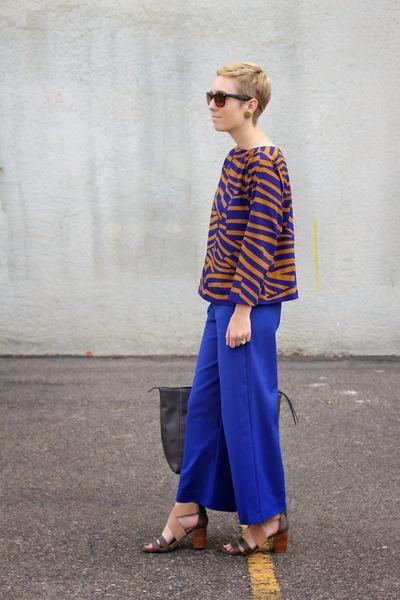 Target bag - Zara pants - DSW heels - piperlime blouse