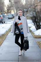 Old Navy boots - Old Navy coat - Ellington Handbags bag - H&M pants