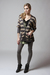brown Heartloom cardigan - silver gestuz leggings - black scout t-shirt
