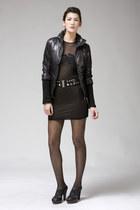 black Antipodium dress - black Improvd jacket