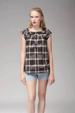 black Dear Creatures blouse