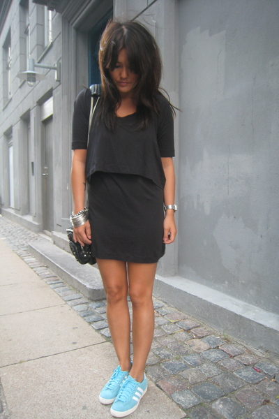 Rodebjer dress - Adidas Originals shoes - Alexander Wang accessories