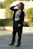 Zara boots - Mango t-shirt
