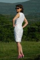 white DresseStylist dress