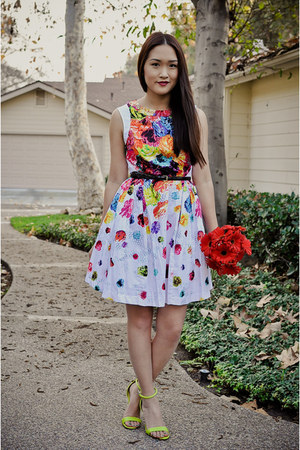 white floral Prabal Gurung for Target dress