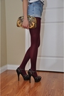 Brown-marni-shoes-red-american-apparel-tights-gold-vintage-accessories-whi