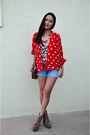 Light-brown-lita-jeffrey-campbell-boots-red-polka-dot-vintage-jacket