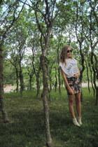 Zara skirt - H&M boots